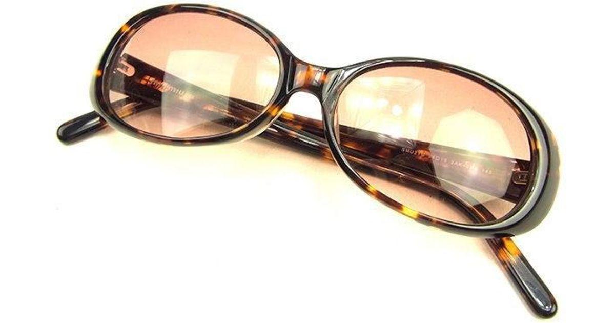 5971472f85f7 Lyst - Miu Miu Miumiu Sunglasses Beckle Pattern Ladies Used Used Y6923 in  Brown