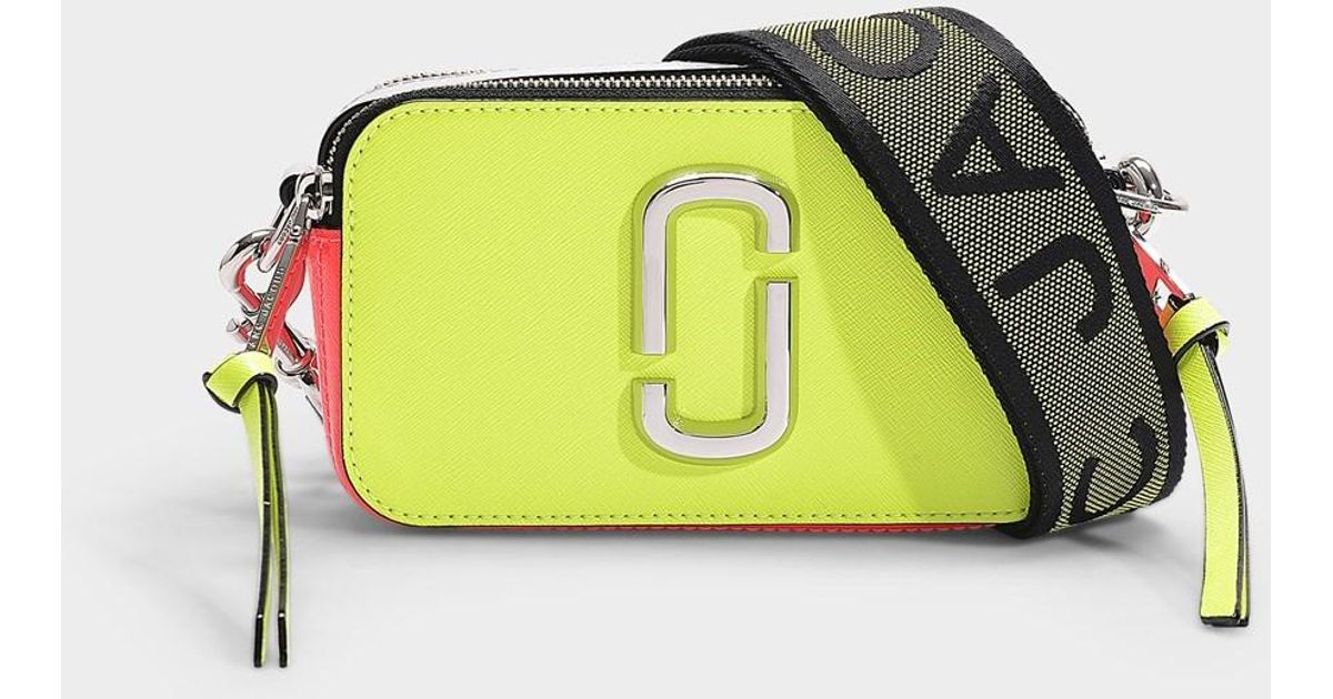 2ded5d4beca marc-jacobs-Yellow-Snapshot-Fluoro-Bag-In-Bright-Green-Leather-With-P.jpeg