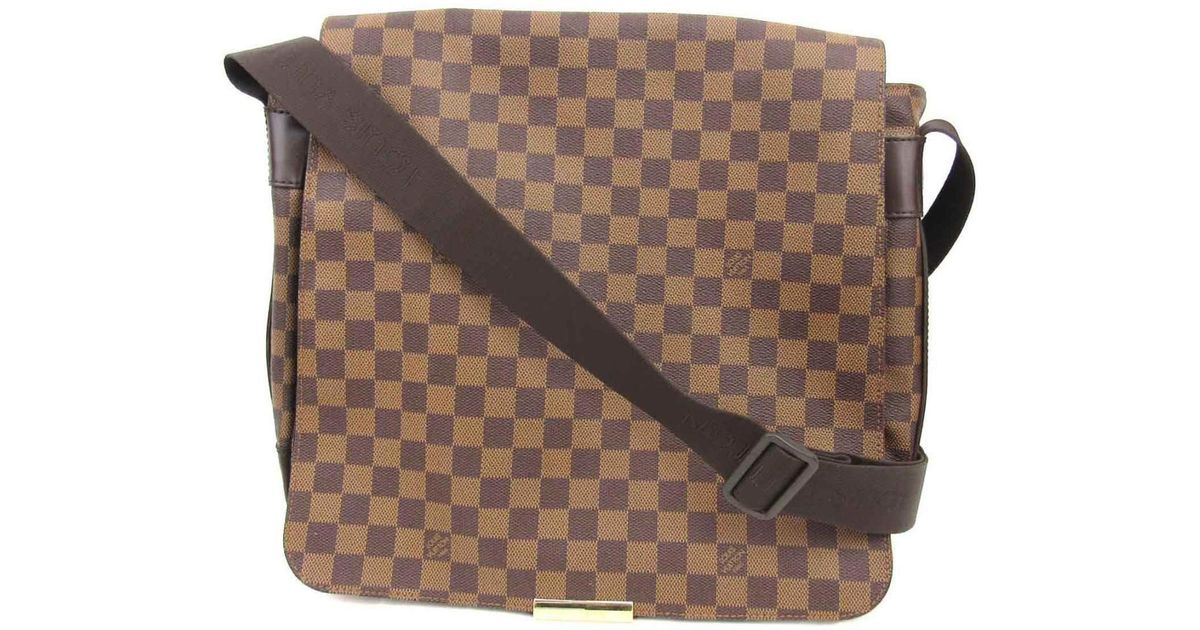 f1b248506865 Lyst - Louis Vuitton Auth Bastille Shoulder Crossbody Bag N45258 Damier  Brown Used in Brown for Men