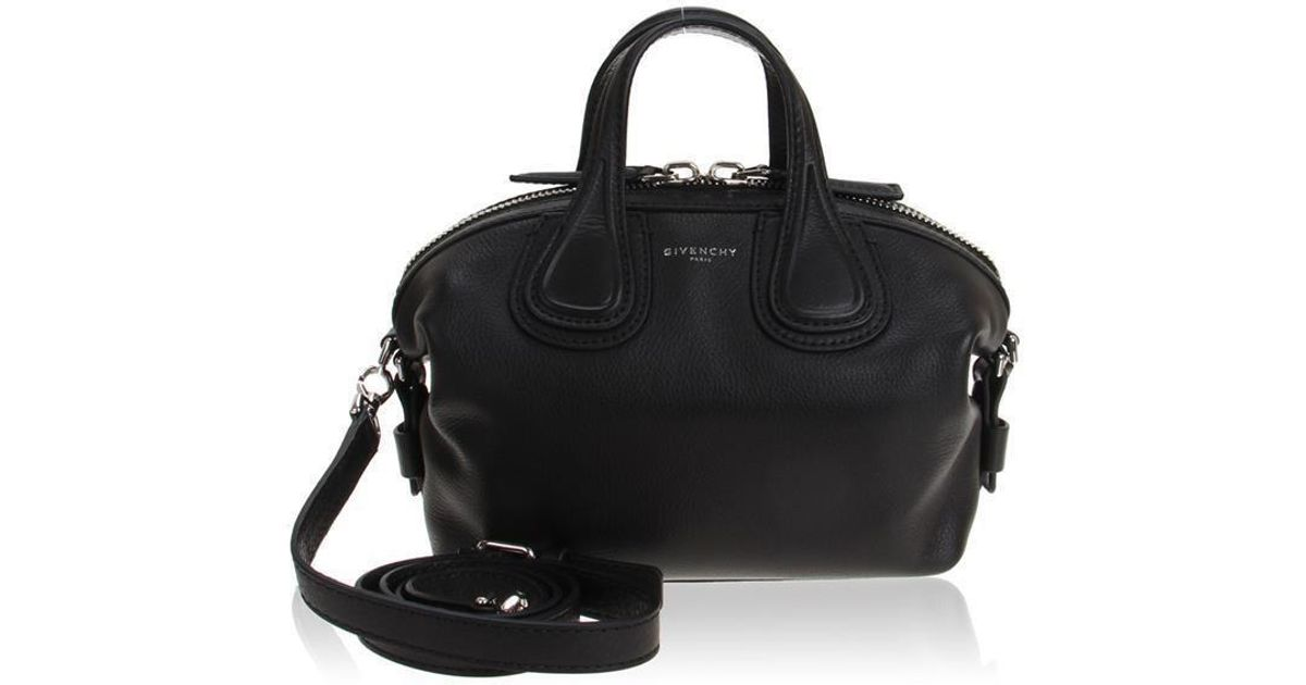 Lyst - Givenchy Micro Nightingale in Black 92956318f6e5d