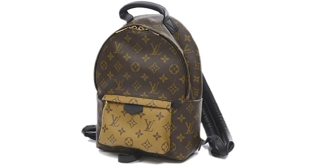 f82c35e2dd4d Lyst - Louis Vuitton Monogram Reverse Backpack Pm Backpack M43116 in Brown