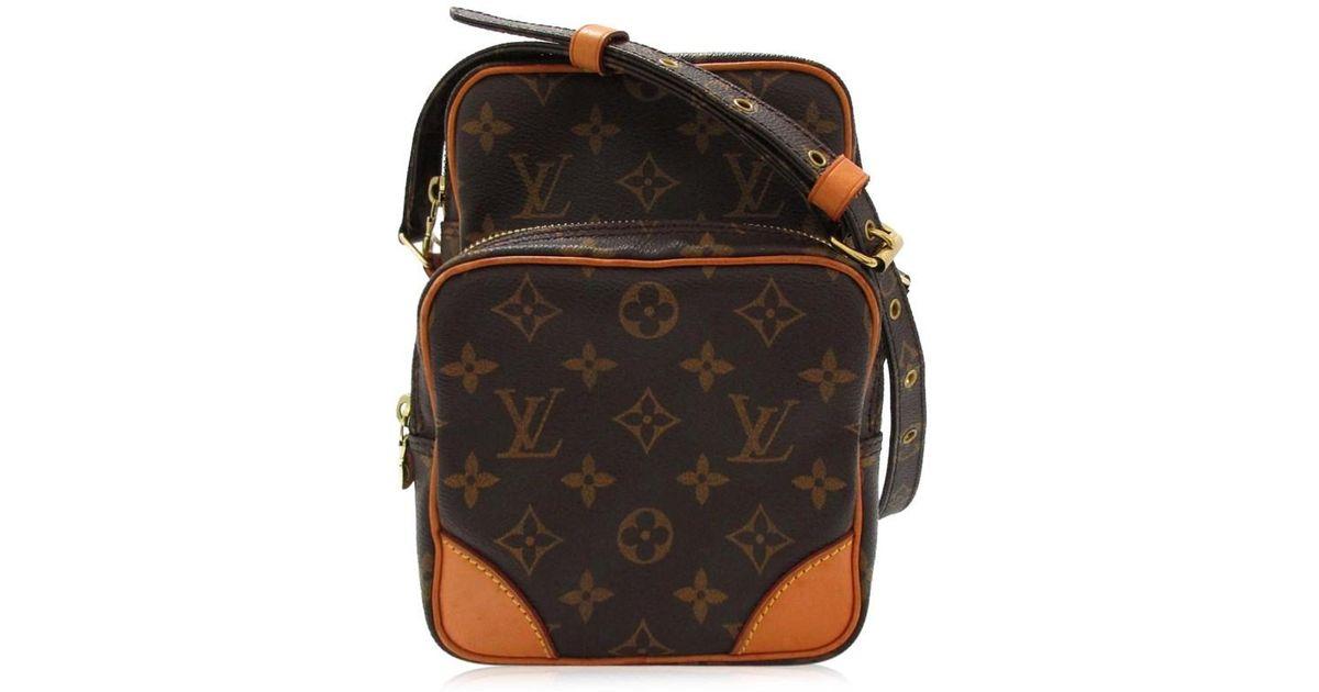 fb48c068ff20 Lyst - Louis Vuitton Authentic Amazon Shoulder Bag M45236 Monogram Used  Vintage in Brown