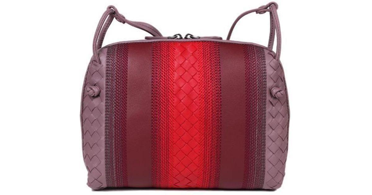 e4903aabe8 Lyst - Bottega Veneta Sunshine Crossbody Bag in Black