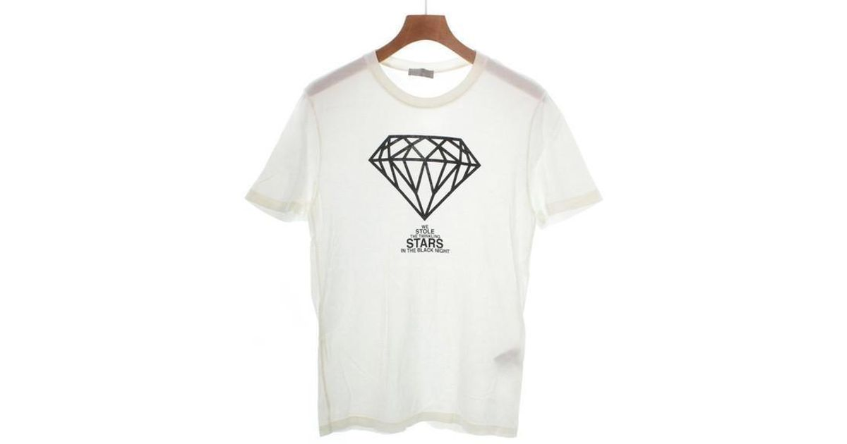 078840b07 Lyst - Dior Homme T Shirt White M in White for Men