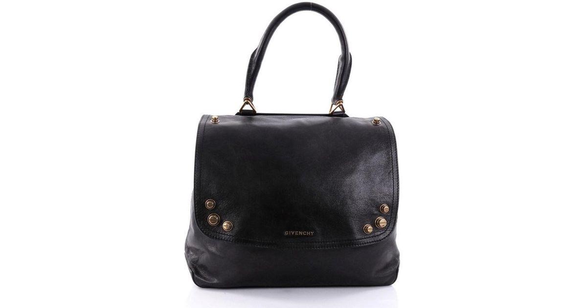 Givenchy Mirte Saddle Bag Bolt Stud Leather Large SaOdLX4