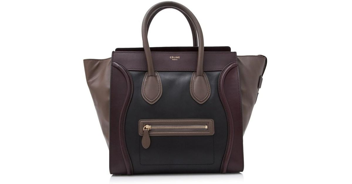 Lyst - Céline Pre-owned Céline Mini Luggage bdb044d145dfb