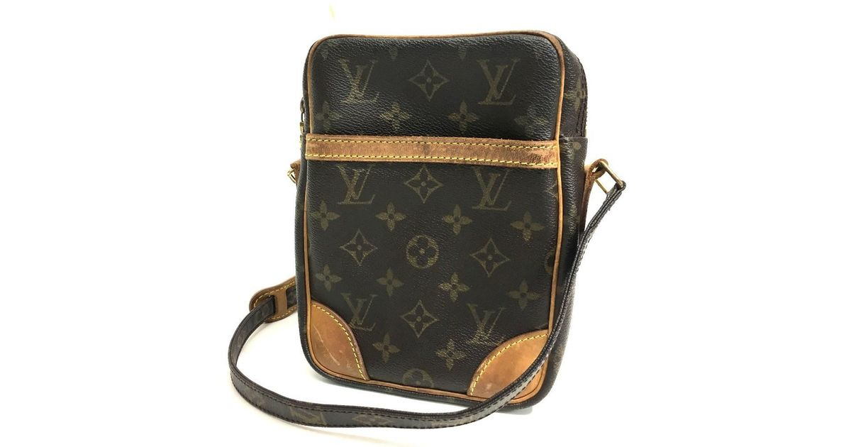 d67a544d2707 Lyst - Louis Vuitton Monogram Danube Men s Women s Shoulder Bag  Monogramcanvas M45266 in Brown