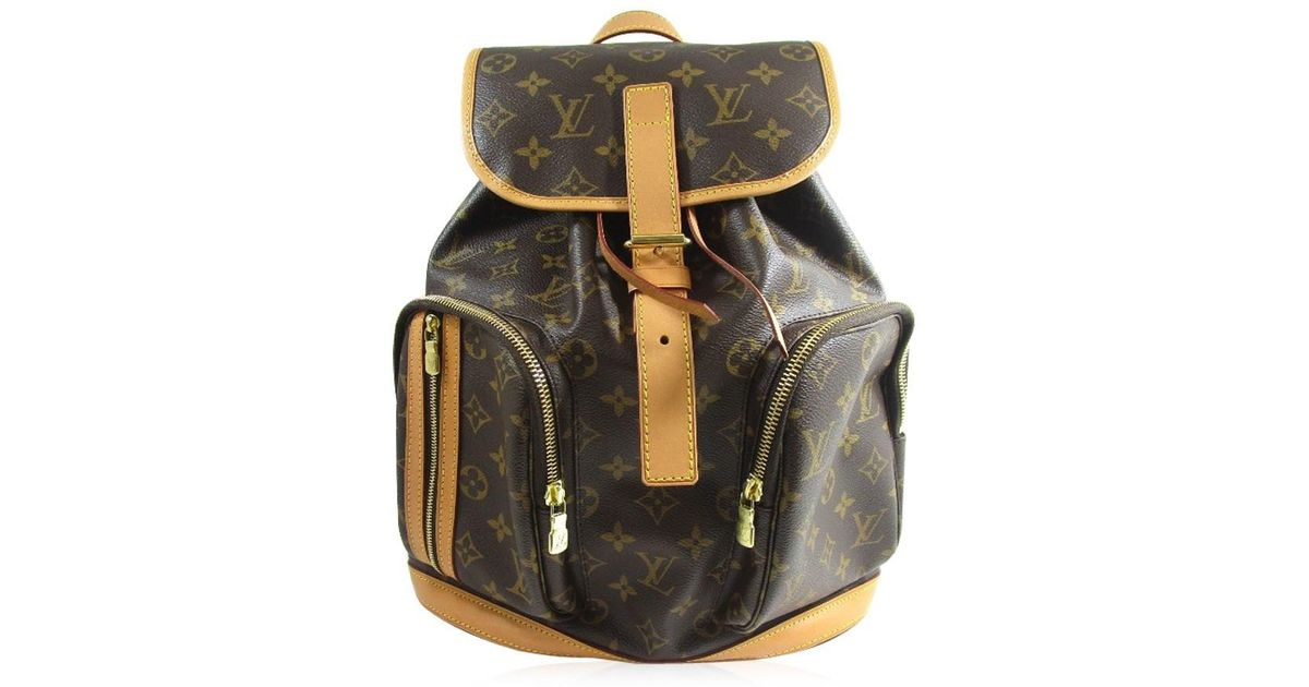 a3562082c6f5 Lyst - Louis Vuitton M40107 Sac A Dos Bosphore Backpack · Daypack Monogram  Canvas in Brown