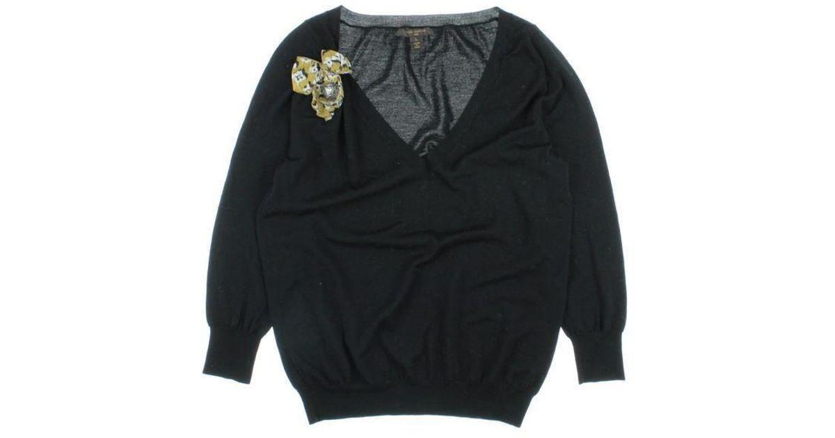 898c4dc3d03 Lyst - Louis Vuitton Sweater Black L in Black