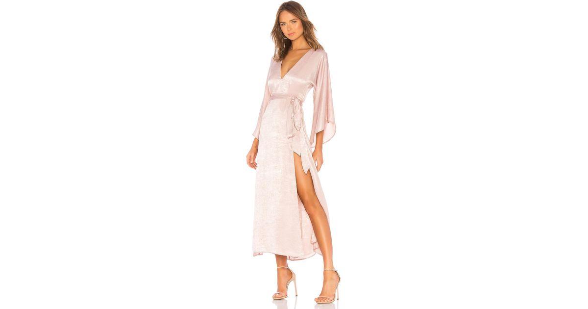 ce8b0710e66 Donna Mizani X Revolve Charlize Maxi in Pink - Lyst