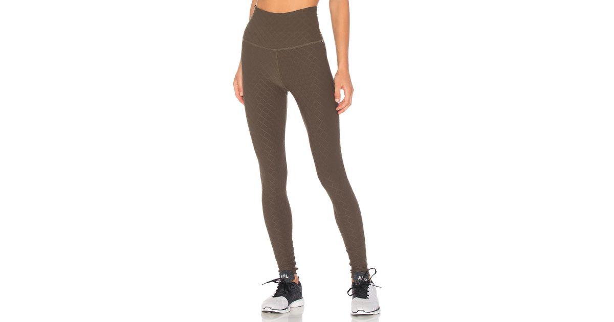 bdb4c93ecd Lyst - Beyond Yoga Can't Quilt You High Waisted Long Legging