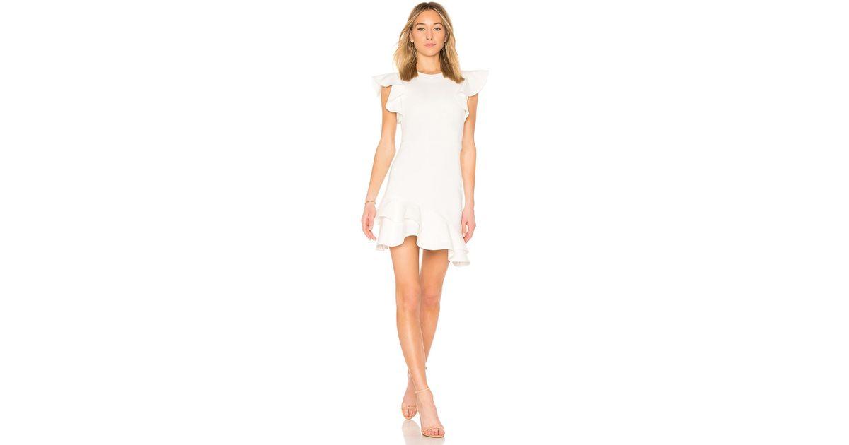 7d59c194027e Amanda Uprichard Eclipse Dress in White - Lyst