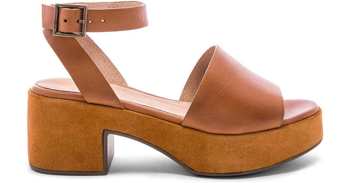 aad70f6ebe9 Lyst - Seychelles Calming Influence Sandal in Brown