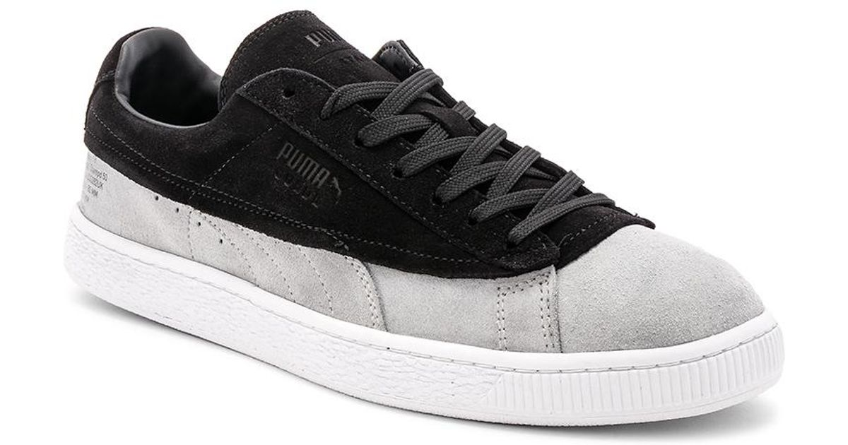 0396e6f6bd8 Lyst - Puma Select X Stampd 50th Suede Classic in Black for Men