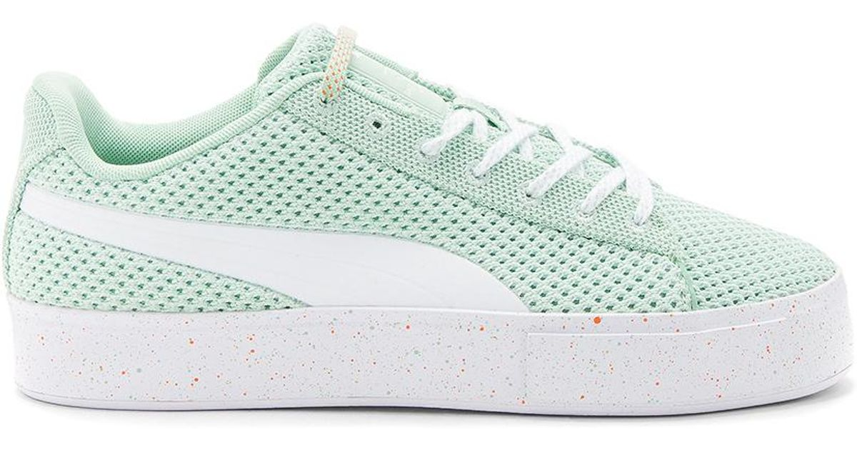 2a8b64d4449 Lyst - Puma Select X Daily Paper Platform Knit Splat in Green