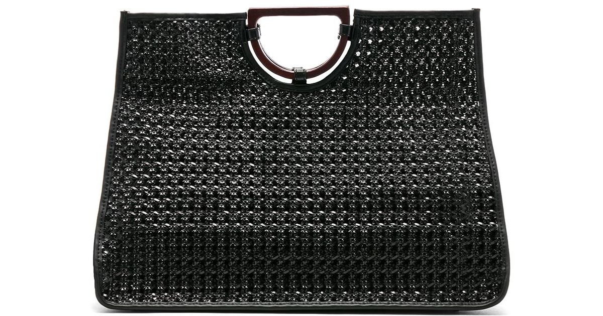 0ec41ee4c9c1a House of Harlow 1960 X Revolve Tilly Tote In Black. in Black - Lyst