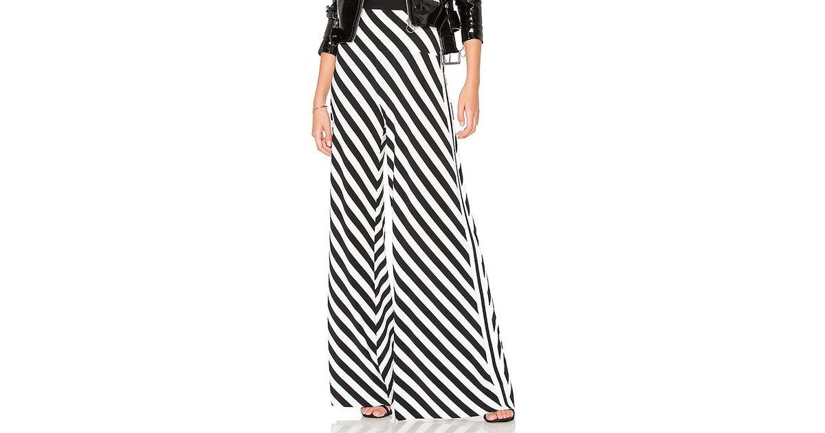 5a4468f19 Lyst - Norma Kamali Side Stripe Elephant Pant in Black