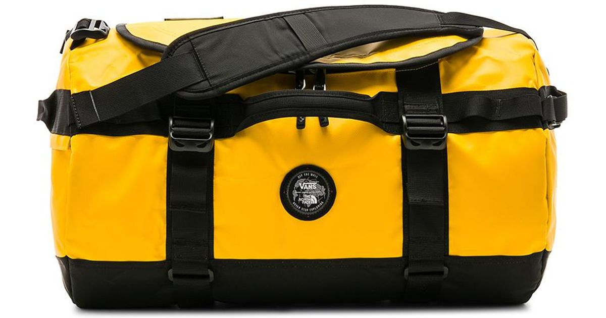 64ccff18f3 Lyst - Vans X The North Face Base Camp Duffel in Yellow
