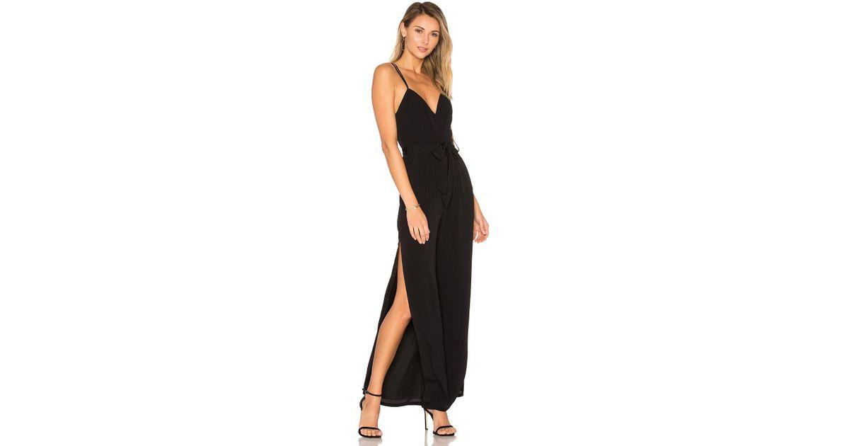 3f4e005c050d Lyst - Lovers + Friends Charisma Jumpsuit in Black