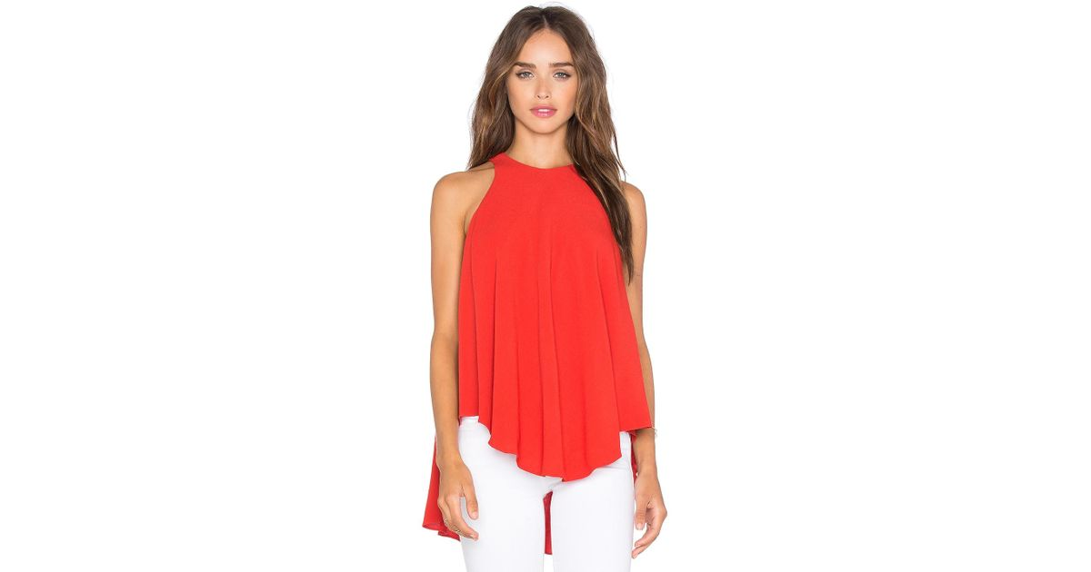 Discount Many Kinds Of Real Sale Online Tova Top in Red Sen Outlet Best Seller rcd3wKgx
