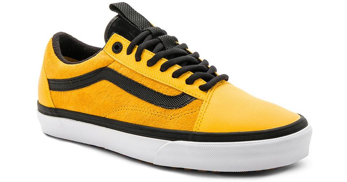 e9b6d82515 Lyst - Vans X The North Face Old Skool Mte Dx in Yellow