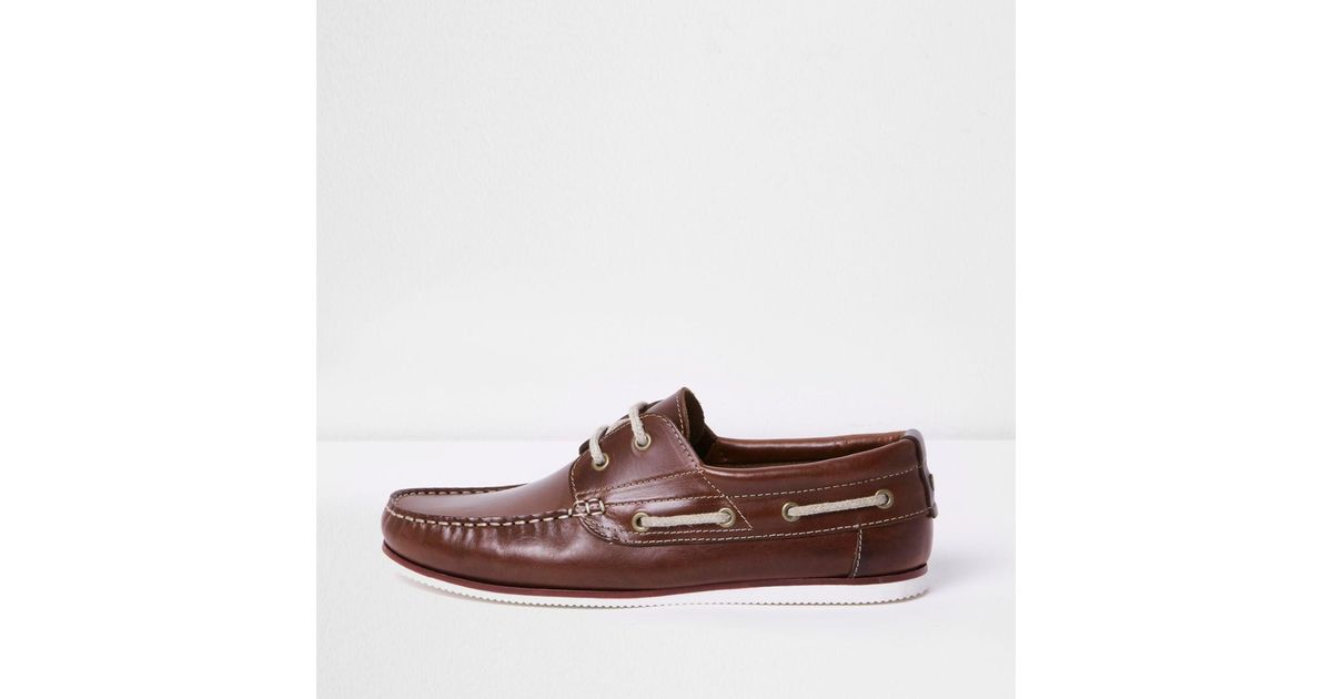 River Island Men Boat Shoes