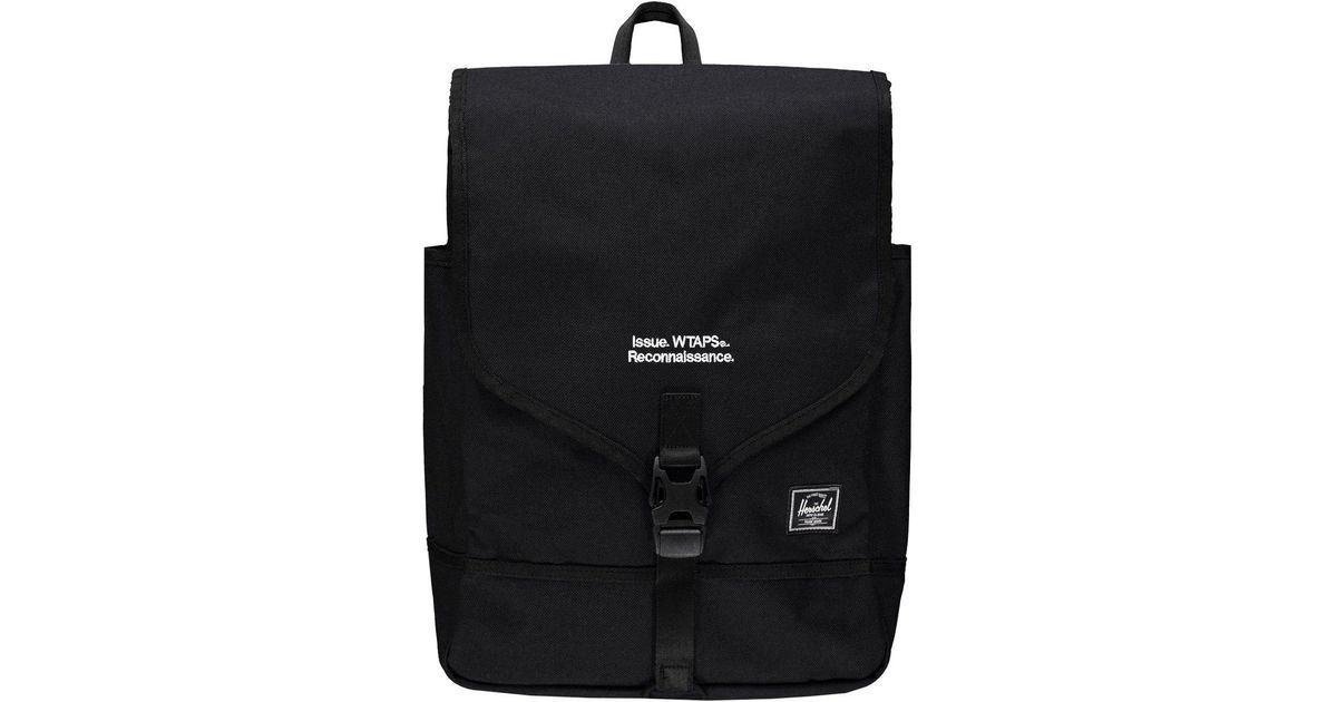 49d07383733 Lyst - Herschel Supply Co. X Wtaps Rp Nylon Backpack in Black for Men