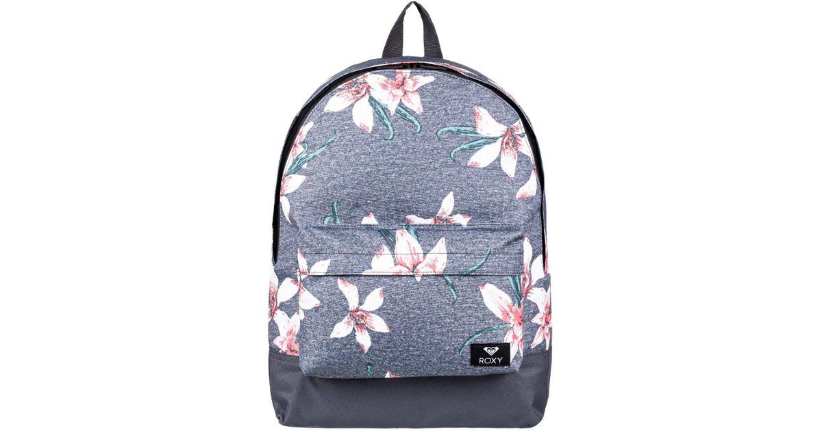 8017ba31fcbe Roxy Small Backpack in Black - Lyst