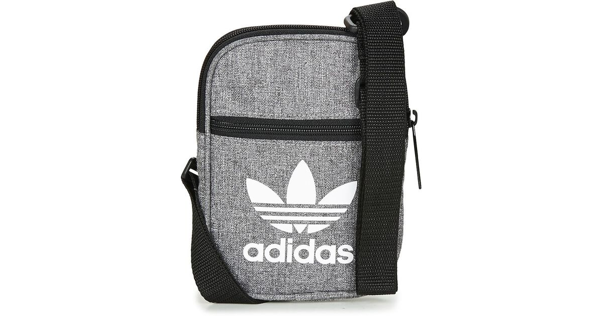 adidas Fest Bag Casual Pouch in Gray - Lyst b271085d96c87