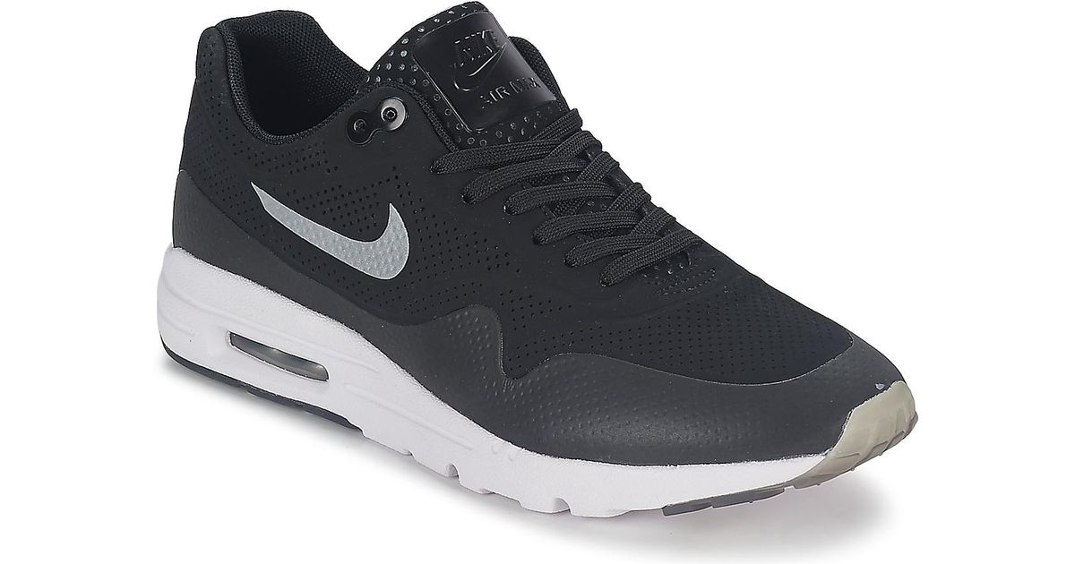 0125cfacaf Nike Air Max 1 Ultra Moire Shoes (trainers) in Black - Lyst