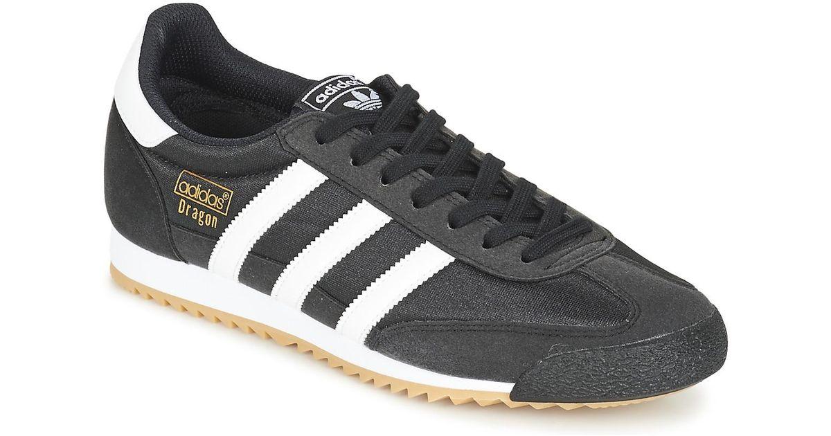 adidas Dragon Og Trainers in Black for Men - Lyst 061e404ec