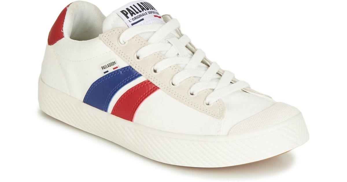 Palladium Pallaphoenix Flame C Shoes (trainers) in White - Lyst 3812c2333