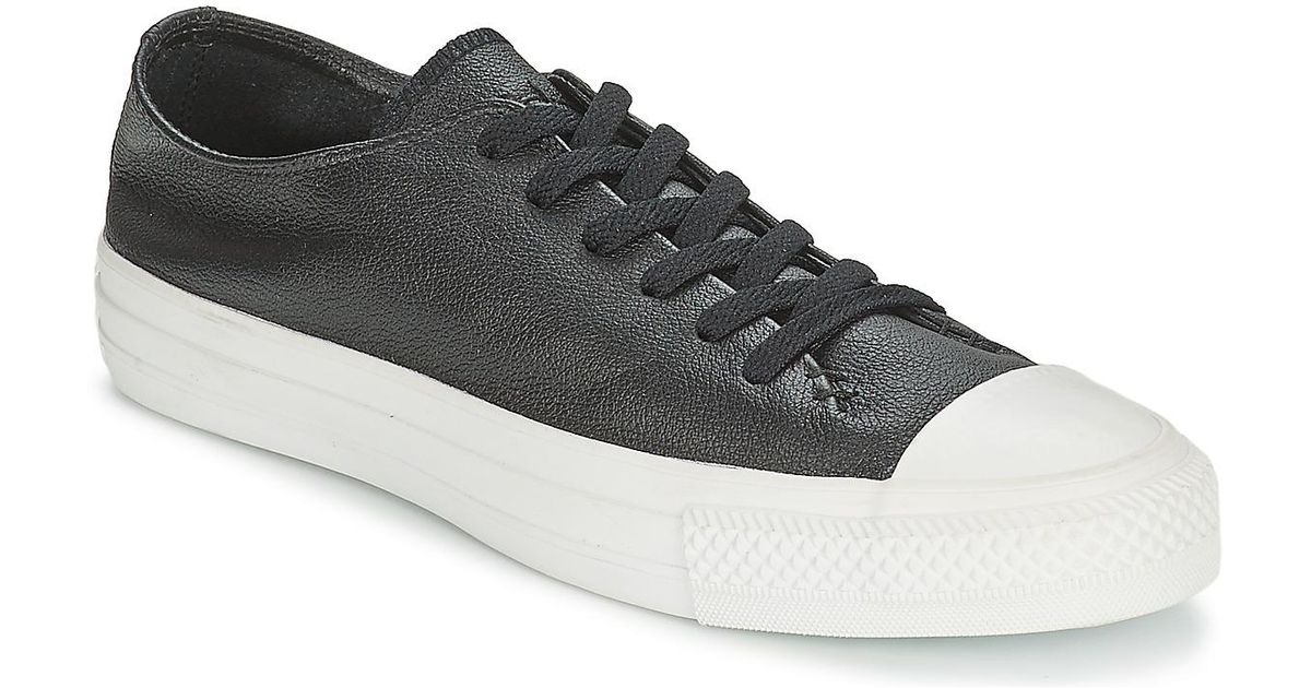 8e2e4c75ac52 Converse All Star Sawyer Ox Men s Shoes (trainers) In Black in Black for  Men - Lyst