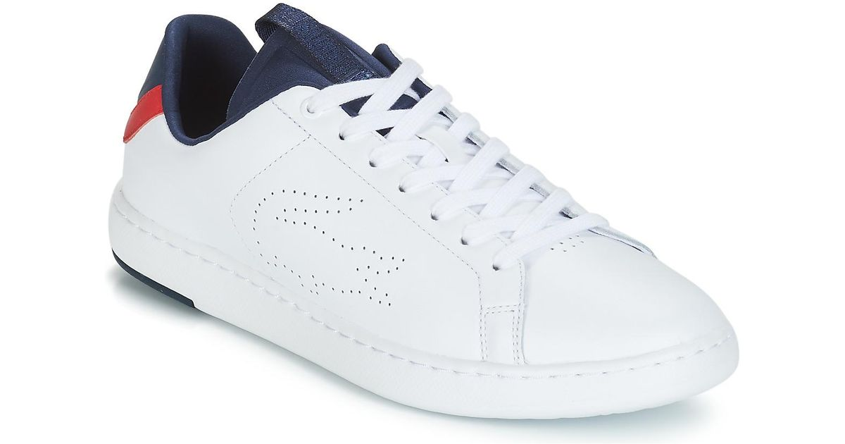 a160b4b7d4da Lacoste Carnaby Evo Light-wt 119 1 Men s Shoes (trainers) In White in White  for Men - Lyst