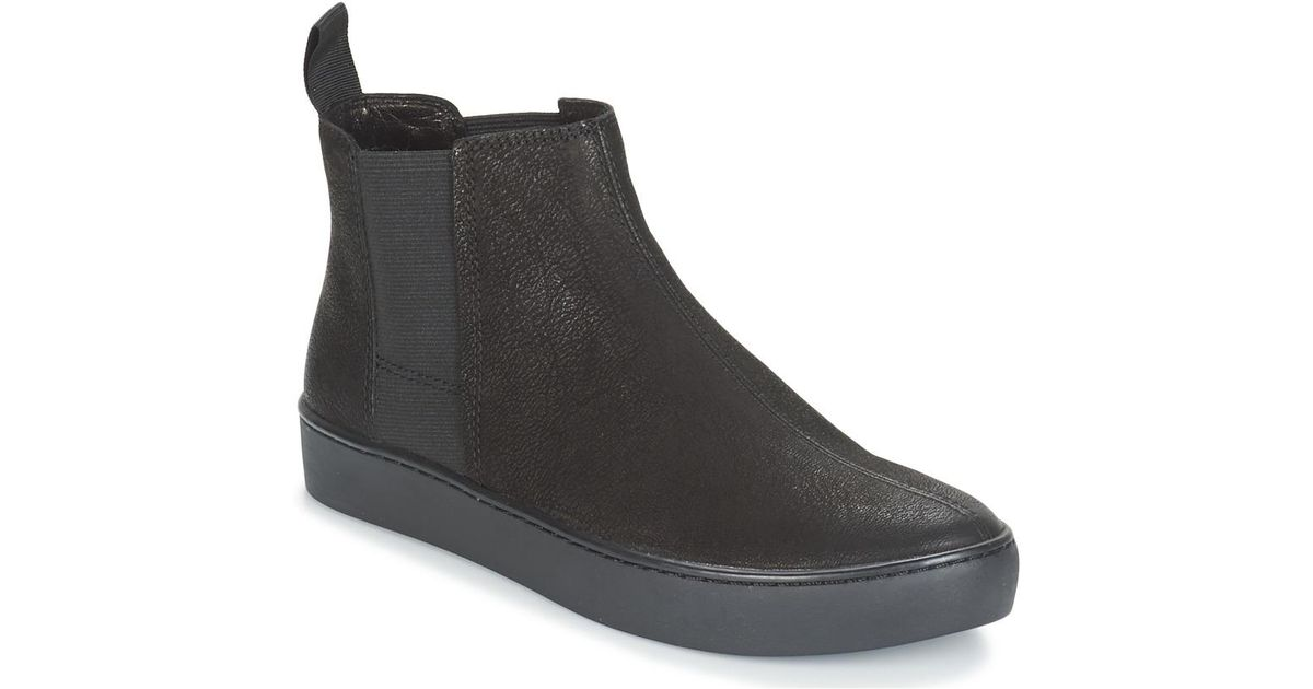 3ad3fbf4b8eb1d Vagabond Zoe Shoes (high-top Trainers) in Black - Lyst