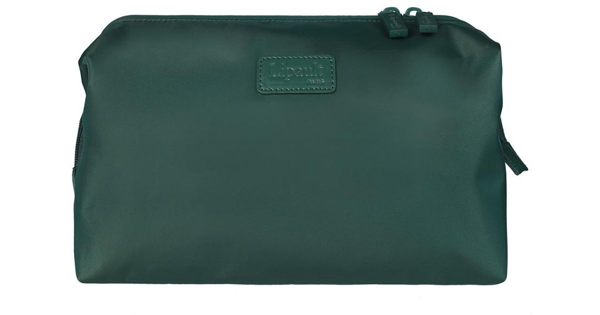 00f853ae22f2 Lipault - Green 12in Plume Accessories Toiletry Kit - Lyst