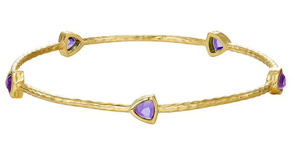 product amethyst gc pprtg bangles bracelet index jewelry giancarlo bangle