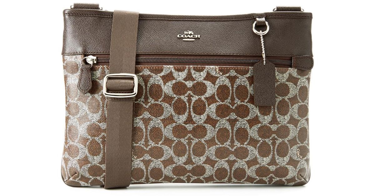 ... netherlands lyst coach spencer signature crossbody bag c7661 c46bd 098f206802a55