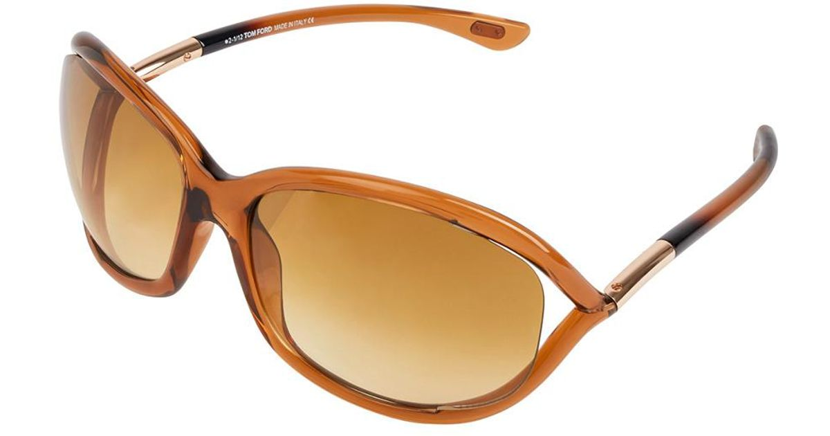 195ff61008dd Lyst - Tom Ford Womens Women s Jennifer 61mm Sunglasses in Brown
