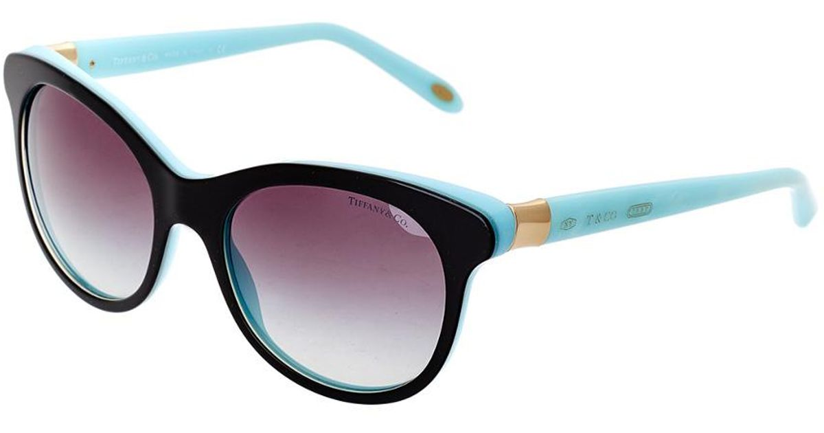 65fa04074b5 Lyst - Tiffany   Co   Co. Women s Tf4125 52mm Sunglasses in Blue