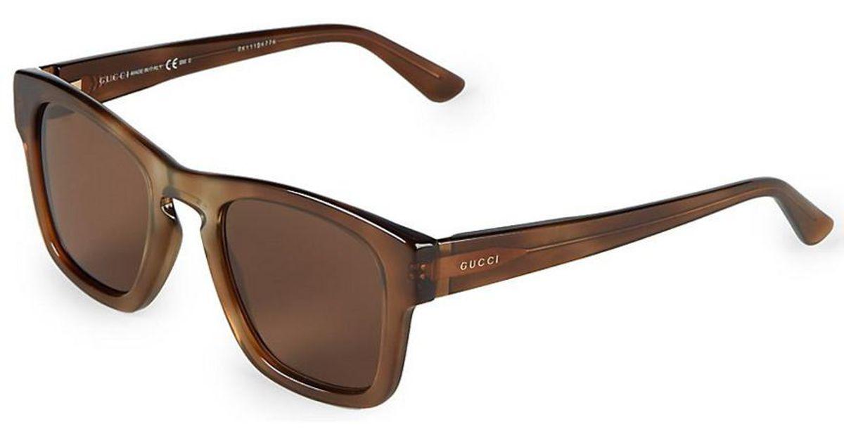 e310206afc3 Gucci Women s GG 3791 s 49mm Polarized Sunglasses in Brown - Lyst
