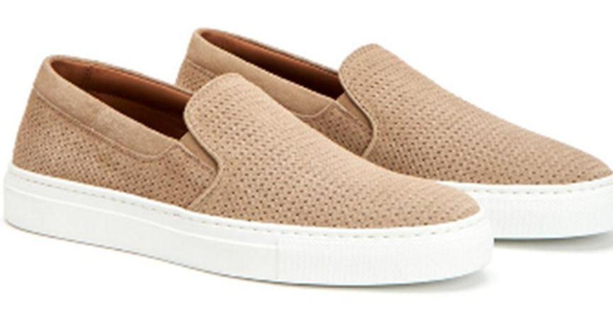 4270f37e842 Lyst - Aquatalia Alisha Waterproof Leather Sneaker in Natural