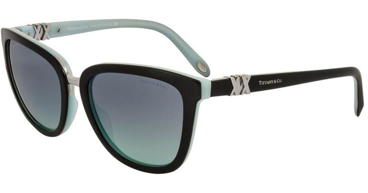 94dd41601e3 Lyst - Tiffany   Co.   Co. Women s Tf4123 55mm Sunglasses in Black