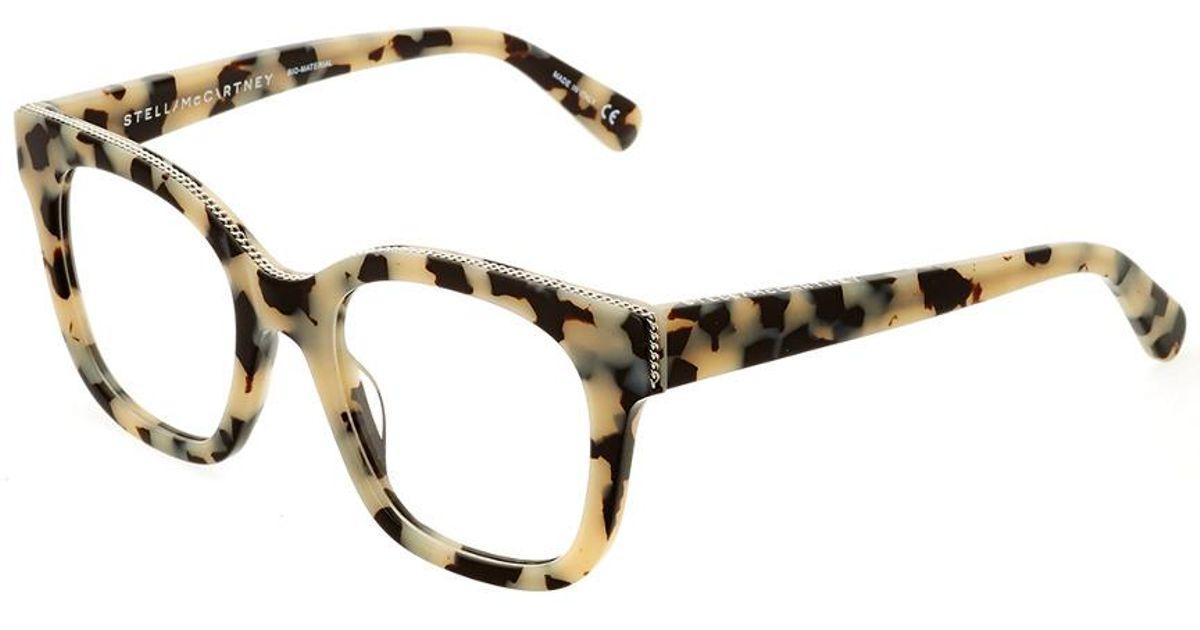 01a09684948 Lyst - Stella McCartney Women s Sc0009o-30000155002-p4460 49mm Optical  Frames in Natural