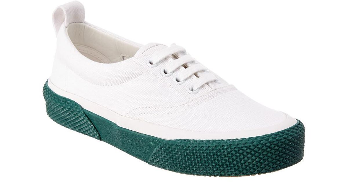 White 180 Sneaker Céline Canvas In Up Lace Lyst cFZ8ay1qw