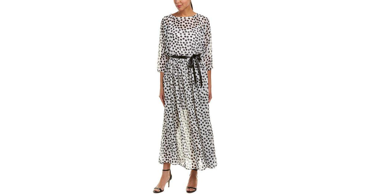 879e2db1dc4 Lyst - Eva Franco Maxi Dress in White