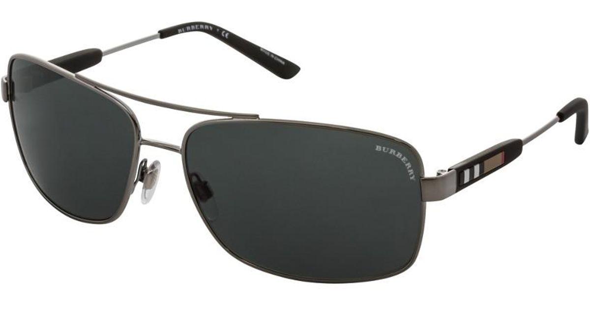 060937d61b8f Burberry Men's Be3074 100387 Sunglasses for Men - Lyst