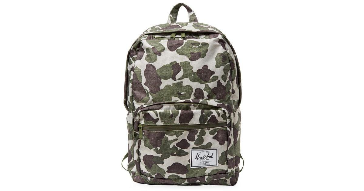 Lyst - Herschel Supply Co. Supply Pop Quiz Backpack in Green for Men 9df944cb92b4b