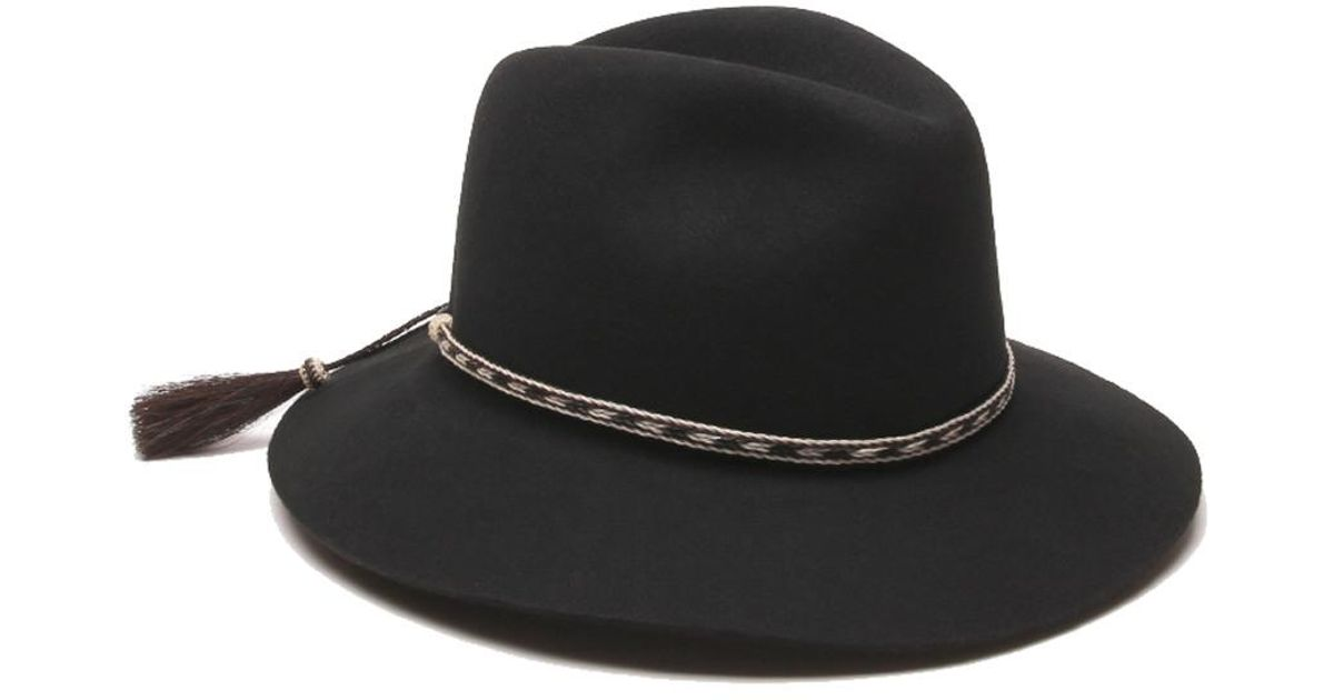 533c186f1f5 Lyst - Gottex Physician Endorsed Cavalo Hat in Black