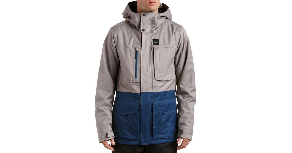 ada439de696 Lyst - Oakley Great Scott Bzs Jacket in Gray for Men